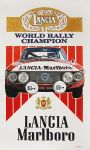 Lancia World Rally Champion Poster by johnwickart