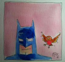 batman and...... by markcrossey