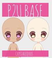 P2U Base 2 by CrystalAdopties