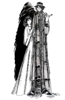 The Doctor and Sarah Jane Smit by herbertzohl