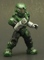Halo Spartan Green Lantern by Shinobitron