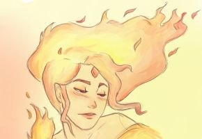 Flame Princess by Agnesaur