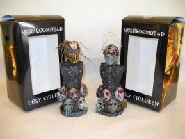Mushroomhead Ugly Children Figures by JPattonFX