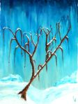 Tree Peinture Huile by GuillaumeDeligne
