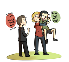 no frostiron by blargberries