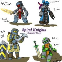 Spiral Knights development 1 by Lazarus-Firenze
