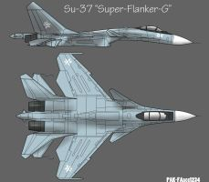 REAF Su-37BM Super Flanker-G by PAK-FAace1234