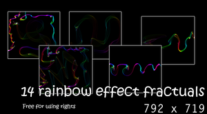 Rainbow Fractals resource by peewee1002