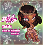 Thiala - Pixie of Mythical Animals by CaramelPotions