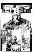Steve Rogers Annual Page 8-4 by IbraimRoberson