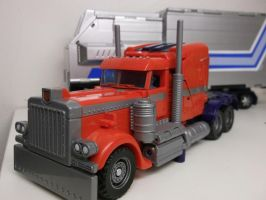 Custom Optimus Movie style by forever-at-peace