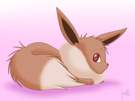 An Eevee by Vellvette