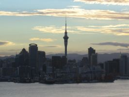 Central Auckland by starfishenterprise
