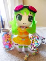 Gumi Plushie by frillycarnival