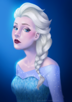 Elsa by ThePuddingMonster