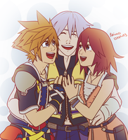Kingdom Hearts - Friends in my Heart by puricoXD