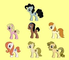 Doctor Whooves Companions by Maleh-wa