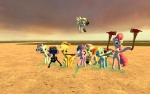 Equestria Fortress 2 in GMod by Acedis