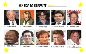 My Top Ten Favourite Actors by Austria-Man