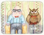 Harry and Hedwig the 19th by Mollinda