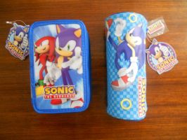 Sonic the Hedgehog Pencil Cases by BoomSonic514