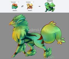 POKEFUSION: Venunine by AnaPunda