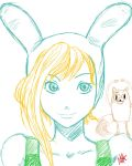 Fionna and Cake by mekishiko-jin