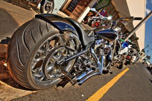 Motorbike HDR II by TheSoftCollision