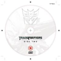 Transformers DVD Label 3 by NineteenPSG