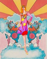 Peter Max dress by SexySadie618
