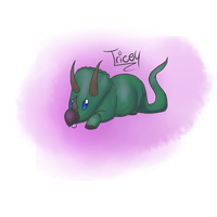 Tricey the Triceratops by Your-10-Last-Words