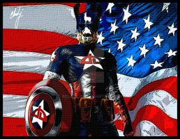 Captain Llamerica by rclarkjnr
