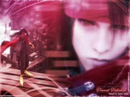 Vincent Valentine New Walle-C by areemus
