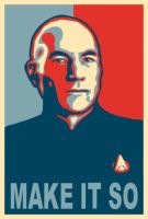 Picard Obama by zacharyxbinks