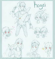 Lots of Kogei for Nakaru by sigfuno