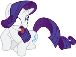 Rarity Derp by nsaiuvqart