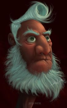 Old man by albii