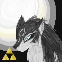 Wolf Link Picture Thing by tomato-rabbit