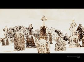 Crosses and Stones by XanaduPhotography