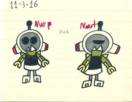 Mxls - Nurp-Naut plush by worldofcaitlyn