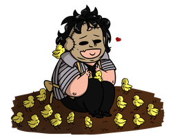 Bubba and his chicks by Bakhtak