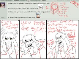 Ask Inuyasha: Fanfiction parings by unknownpicture