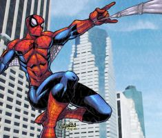 Spiderman_Ivybeth colours by AngelCrusher