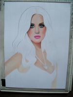 KATY wip by AngelasPortraits