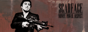 Scarface Facebook Cover by andrewboy94