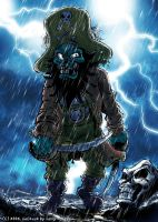 Pirate LeChuck by Zlydoc