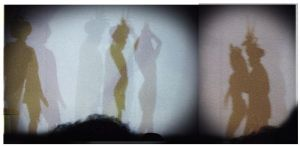 Shadow dancers III by clarisaponcedeleon