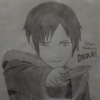 Izaya Orihara by DarkRikuLover12