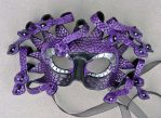 Purple Medusa Mask by merimask