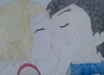 Amourshipping: First Kiss (request) by HAKDurbin